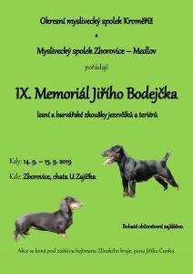 plakát memoriál - 2019